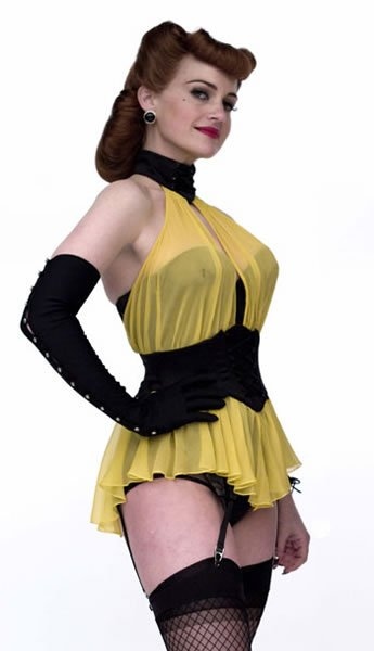 Carla Gugino as Sally Jupiter of Watchmen