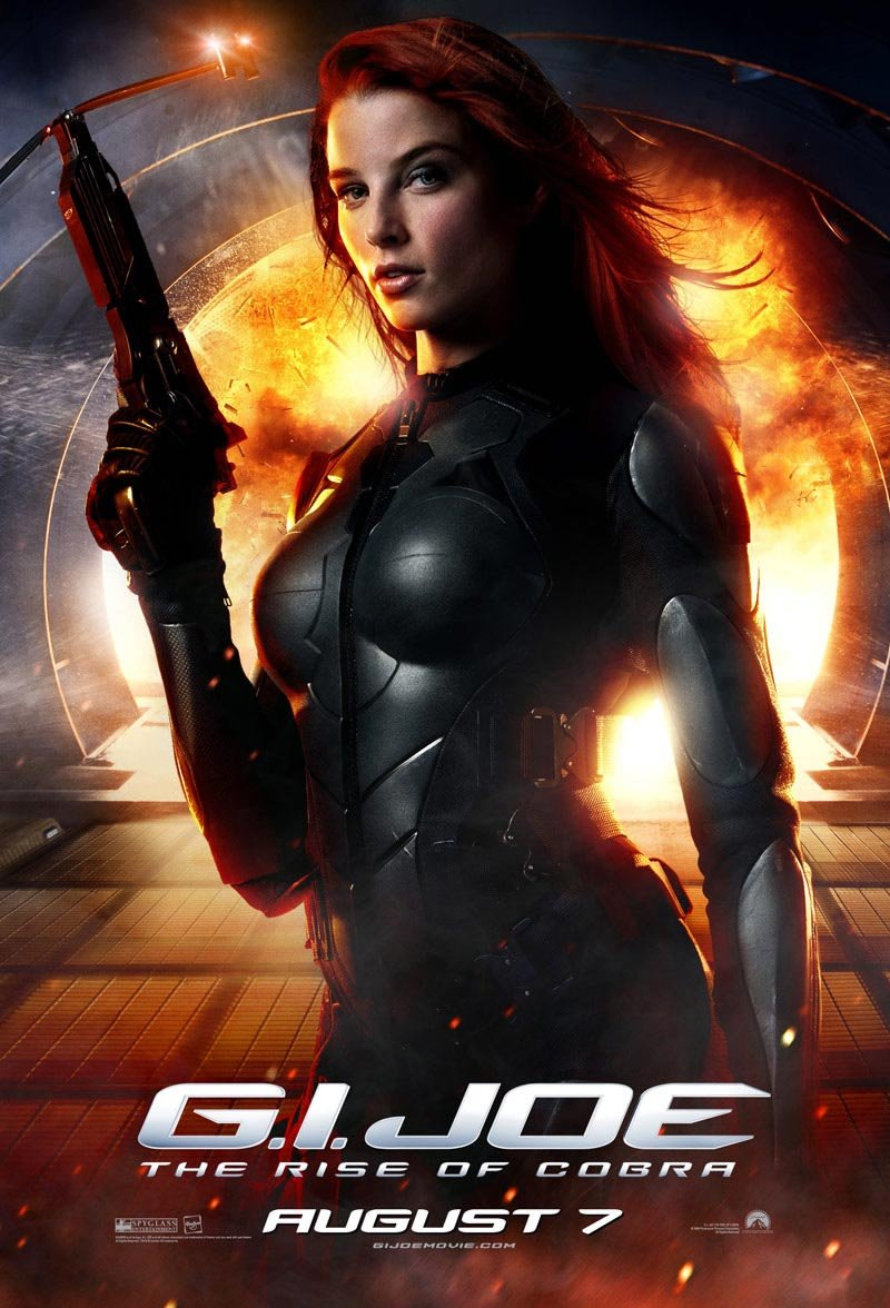 Rachel Nichols - Scarlett in G.I. Joe: The Rise of Cobra