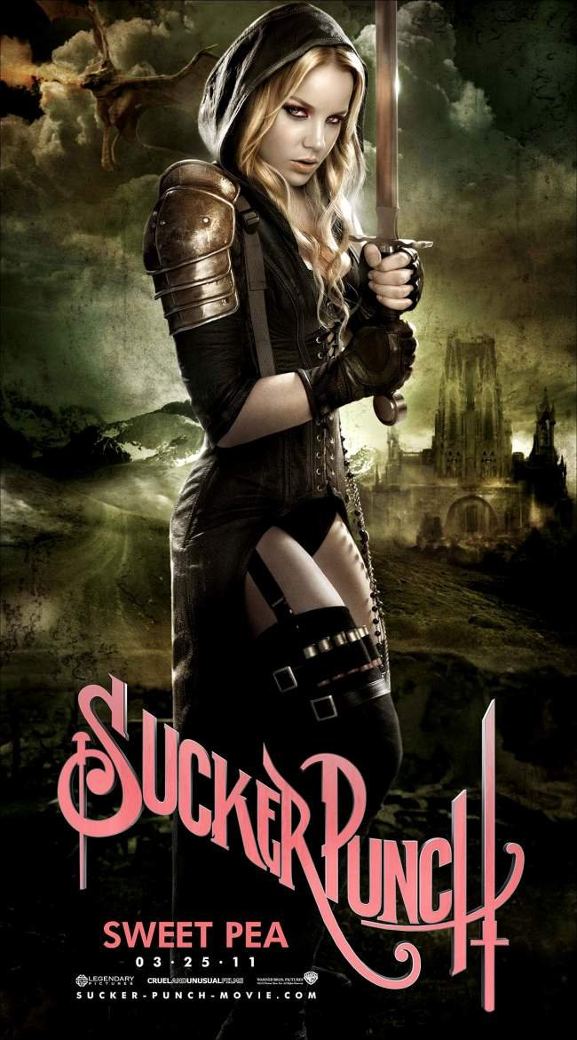 Abbie Cornish in Sucker Punch as Sweet Pea