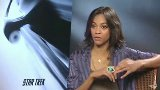 Zoe Saldana Video - Zoe Saldana Star Trek Interview
