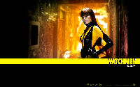 Malin Akerman Wallpaper - Watchmen - Silk Spectre