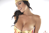 Denise Milani as Wonder Woman Wallpaper